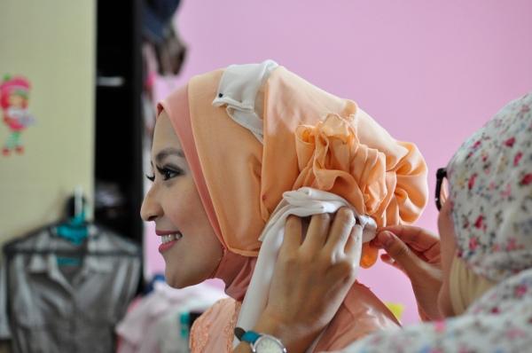 Hasil Make Up by Me, Lumayan lah ya daripada Lu Manyun~
