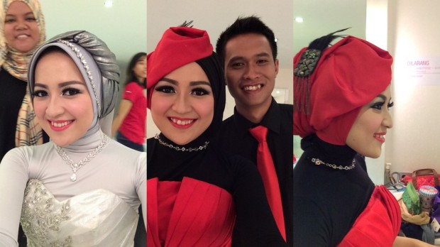 Hasil Make Up by Kaneta + Jilbab-do by @Jatupurwanti